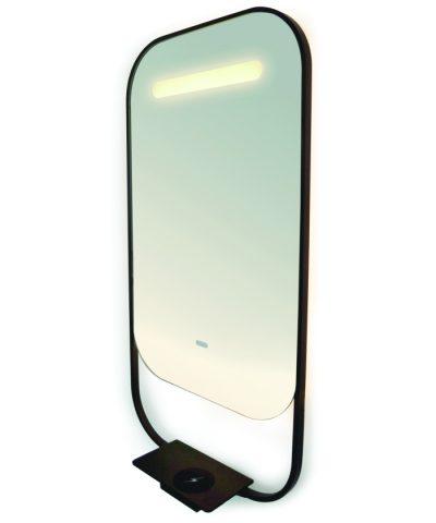 60x40cm Espejo de ba/ño con iluminaci/ón LED Alasta Baltimore Espejo Bianco C/álido LED